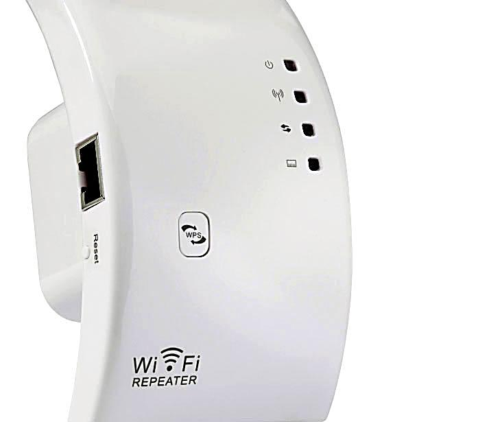 wlan repeater 7links 300mbit mit wps button. Black Bedroom Furniture Sets. Home Design Ideas