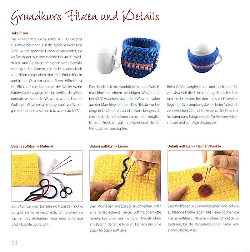 Wohndeko häkeln & verfilzen Buch bei Weltbild.ch online bestellen