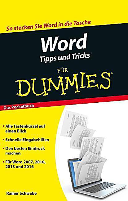 word tipps und tricks f r dummies buch bei bestellen. Black Bedroom Furniture Sets. Home Design Ideas