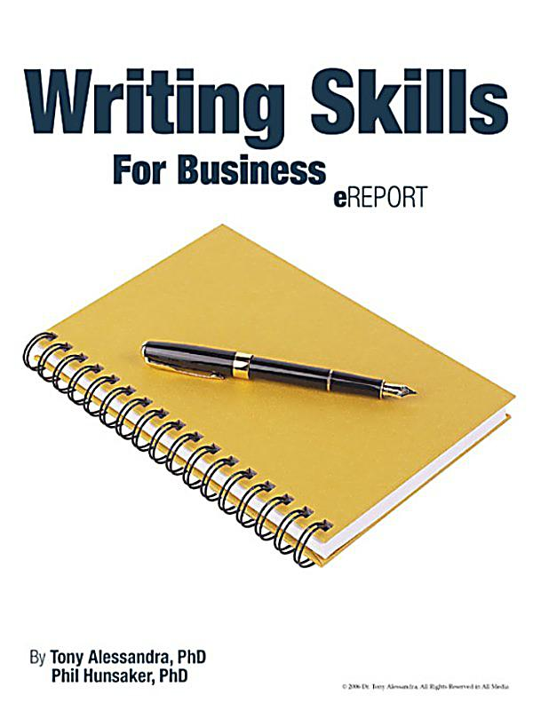 Writing Skills For Business EReport Ebook