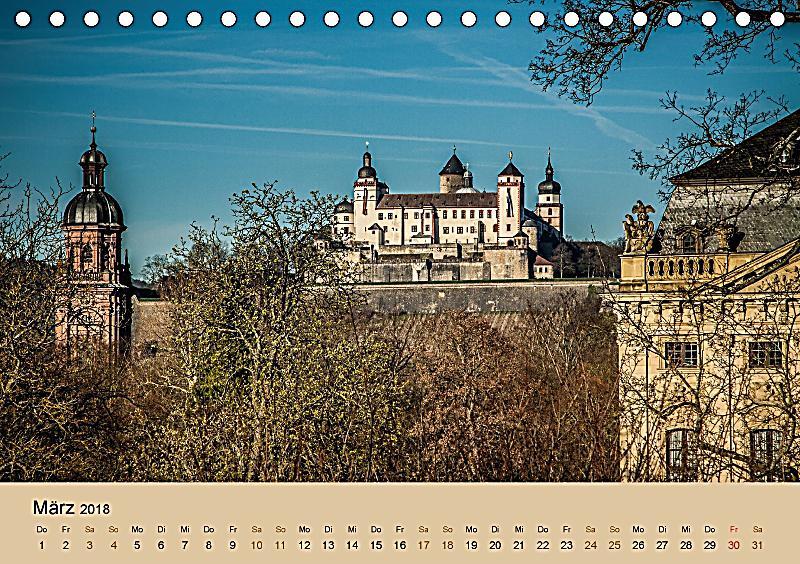 w rzburg besuchen erleben genie en tischkalender 2018 din a5 quer kalender bestellen. Black Bedroom Furniture Sets. Home Design Ideas