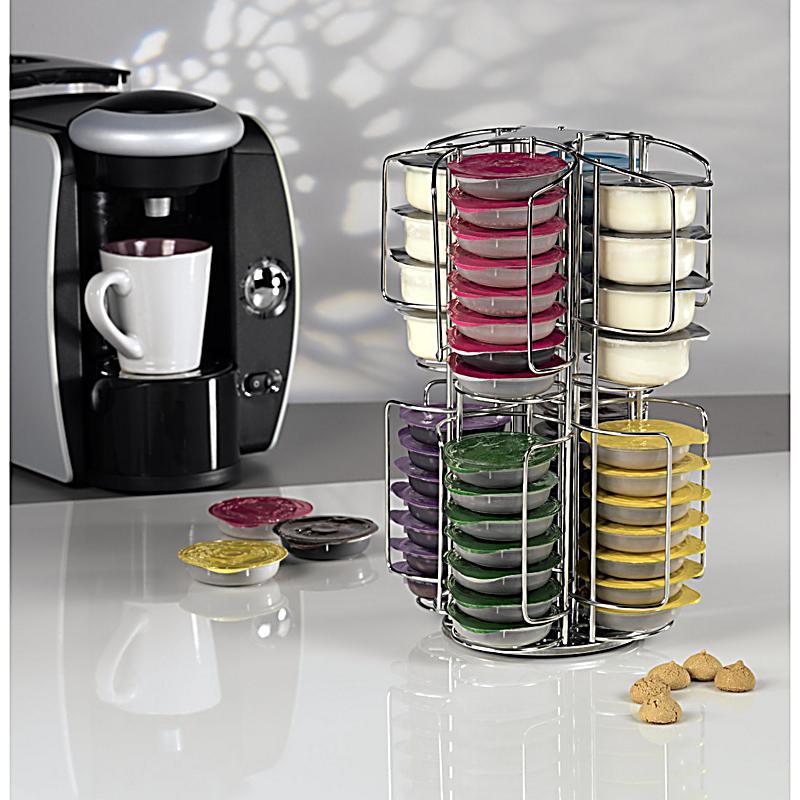 xavax kaffee kapselst nder rondello f r 64 tassimokapseln edelstahl. Black Bedroom Furniture Sets. Home Design Ideas