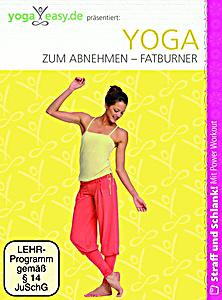 yoga easy yoga zum abnehmen fatburner dvd. Black Bedroom Furniture Sets. Home Design Ideas