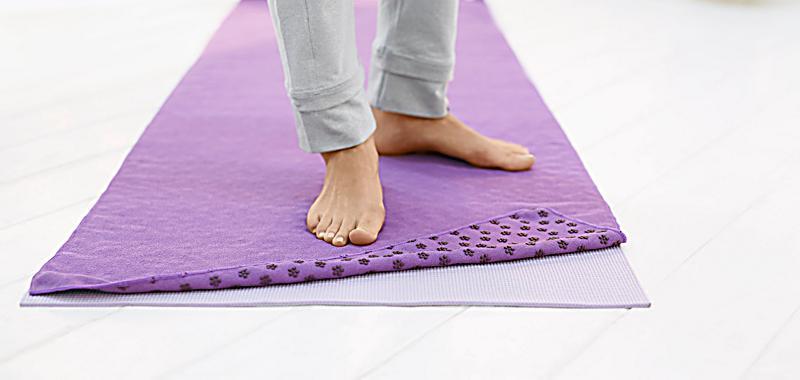 yoga handtuch jetzt bei bestellen. Black Bedroom Furniture Sets. Home Design Ideas