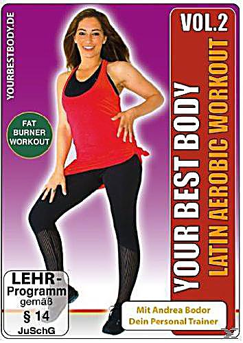 your best body latin aerobic workout vol 2 dvd. Black Bedroom Furniture Sets. Home Design Ideas