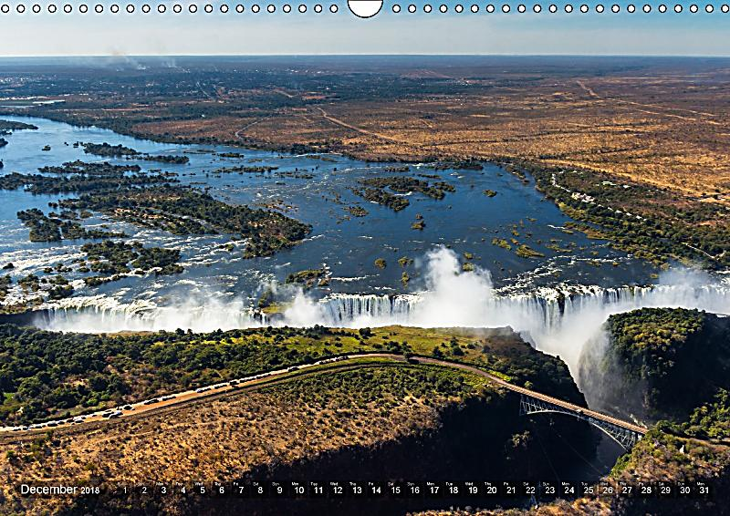 Calendar Zambia : Zambia wall calendar din a landscape kalender