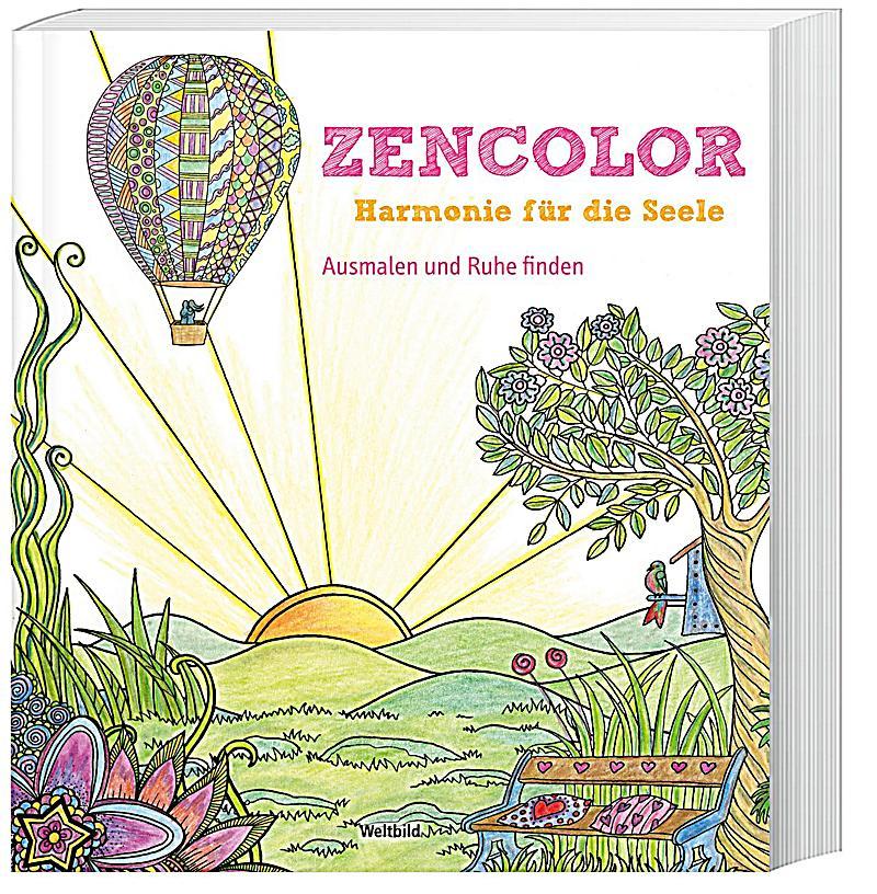 zencolor harmonie f r die seele ausmalen und ruhe finden weltbild ausgabe. Black Bedroom Furniture Sets. Home Design Ideas