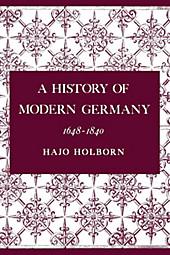 A History of Modern Germany, Volume 2. Hajo Holborn, - Buch - Hajo Holborn,