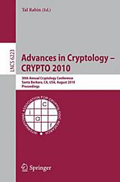 Advances in Cryptology -- CRYPTO 2010.  - Buch