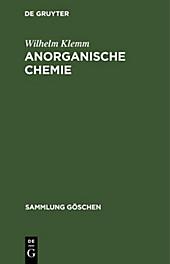 Anorganische Chemie - eBook - Wilhelm Klemm,