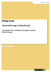 Armenfürsorge in Innsbruck - eBook - Philipp Strobl,