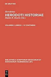 Bibliotheca scriptorum Graecorum et Romanorum Teubneriana: Libri I - IV - eBook - Herodotus,