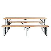 bierzeltgarnitur preisvergleich die besten angebote online kaufen. Black Bedroom Furniture Sets. Home Design Ideas