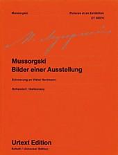 Bilder einer Ausstellung, für Klavier.  - Buch