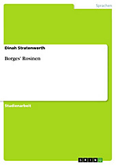 Borges' Rosinen - eBook - Dinah Stratenwerth,