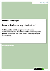 Braucht Fachberatung ein Gesicht? - eBook - Theresia Friesinger,