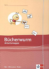 Bücherwurm Fibel, Ausgabe Sachsen: Arbeitsmappe, Üben - Differenzieren - Fördern