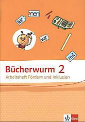 Bücherwurm Sprachbuch, Allgemeine Ausgabe: 2. Schuljahr, Arbeitsheft Fördern und Inklusion