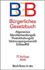 Bild Bürgerliches Gesetzbuch (BGB), 77. Auflage