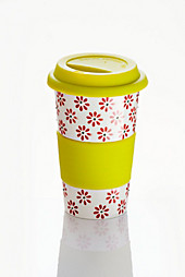 Coffee-to-go-Becher ''''Alina'''', grün