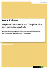 Corporate Governance und Compliance im internationalen Vergleich - eBook - Verena Grollmann,