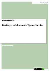 Das Proyecto Salesianos in Tijuana, Mexiko - eBook - Bianca Lehner,