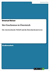 Der Faschismus in Österreich - eBook - Emanuel Beiser,