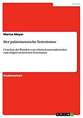 Der palästinensische Terrorismus - eBook - Marius Meyer,