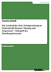 Die Landschafts- bzw. Naturgestaltung in Eichendorffs Roman