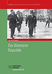 Die Weimarer Republik. Jan Trützschler, - Buch - Jan Trützschler,