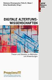 Digitale Altertumswissenschaften.  - Buch