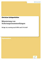 Diplom.de: Bilanzierung von Sicherungszusammenhängen - eBook - Christian Schäperkötter,