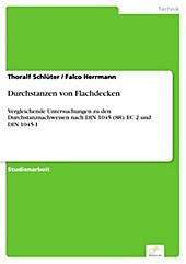 Diplom.de: Durchstanzen von Flachdecken - eBook - Falco Herrmann, Thoralf Schlüter,