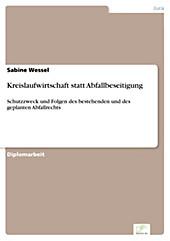 Diplom.de: Kreislaufwirtschaft statt Abfallbeseitigung - eBook - Sabine Wessel,