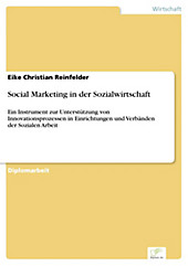 Diplom.de: Social Marketing in der Sozialwirtschaft - eBook - Eike Christian Reinfelder,