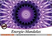 Energie - Mandalas, Spiritualität durch die Farbe Lila (Wandkalender 2020 DIN A3 quer) - Kalender - Christine Bässler,