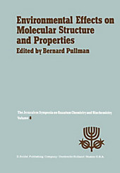 Environmental Effects on Molecular Structure and Properties.  - Buch