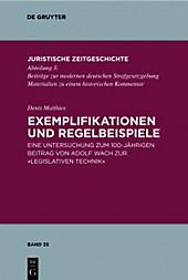 Exemplifikationen und Regelbeispiele. Denis Matthies, - Buch - Denis Matthies,
