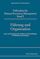 Fallstudien für Human Resources Management Band I - eBook - Nina Kluckow, Manfred Becker,