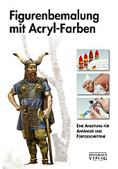 Figurenbemalung mit Acryl-Farben