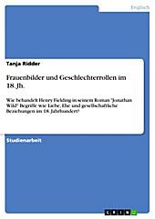 Frauenbilder und Geschlechterrollen im 18. Jh. - eBook - Tanja Ridder,