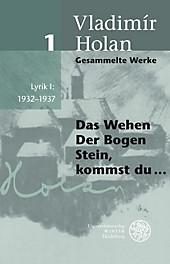 Gesammelte Werke: Bd.1 Lyrik.  - Buch