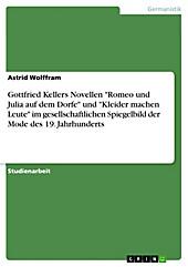Gottfried Kellers Novellen