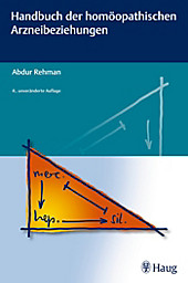 Handbuch der homöopathischen Arzneibeziehungen - eBook - Abdur Rehman,