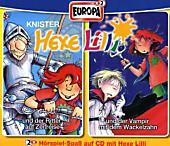 Hexe Lilli und der Ritter auf Zeitreise; Hexe Lilli und der Vampir mit dem Wackelzahn, 2 Audio-CDs