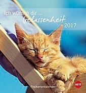 Ich wünsch dir Gelassenheit Postkartenkalender 2017