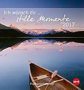Ich wünsch dir Stille Momente Postkartenkalender 2017
