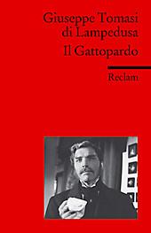 Il Gattopardo. Giuseppe Tomasi di Lampedusa, - Buch - Giuseppe Tomasi di Lampedusa,