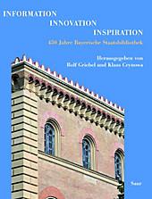 Information - Innovation - Inspiration - eBook - - -,