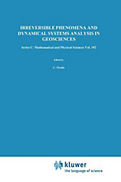 Irreversible Phenomena and Dynamical Systems Analysis in Geosciences.  - Buch